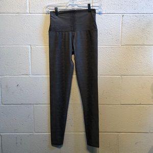 Onzie gray & black pattern full legging sz xs59756